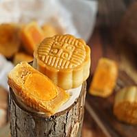 无糖蛋黄月饼#金龙鱼外婆乡小菜籽油 外婆的时光机#的做法图解19