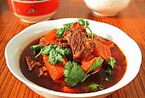 牛肉炖胡萝卜--冬季暖身的做法
