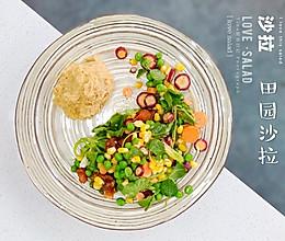低脂田园蔬菜沙拉的做法
