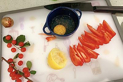 酮晚4《海带排骨+西红柿鸡蛋饼》