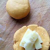 爆浆南瓜饼的做法图解3