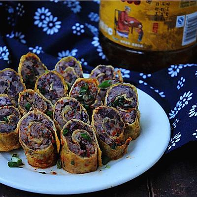 春节宴客菜——美味金钱卷