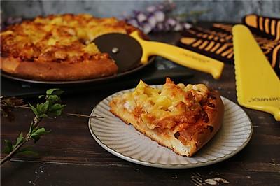 菠萝鸡披萨