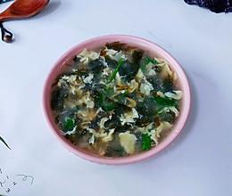 蛋香椒虾紫菜汤的做法
