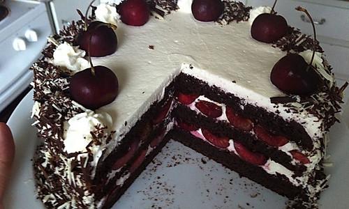 黑森林 (Schwarzwald-cake)的做法