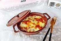 超拉丝的海鲜焗饭#ACA北美电器#的做法