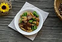 鲜笋炒腊肉#樱花味道#的做法