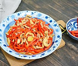甜椒肉丝的做法