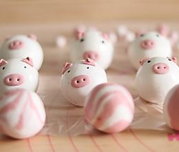 萌萌的小猪汤圆的做法