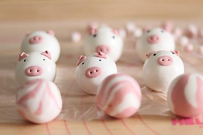 萌萌的小猪汤圆