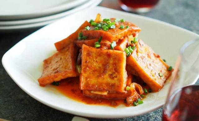 让米饭告急的传统川菜【熊掌豆腐】