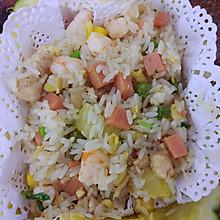 椰香菠萝炒饭