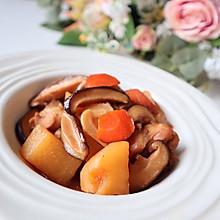 红烧鸡肉炖土豆