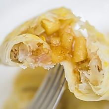 手抓饼酸梅肉桂苹果派(烤箱&平底锅版,美国人都说好吃)