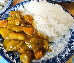 家常咖喱饭的做法