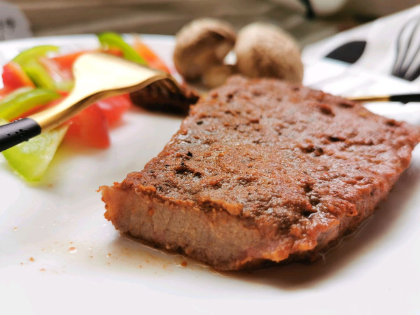 黑椒牛排(烤箱版)的做法