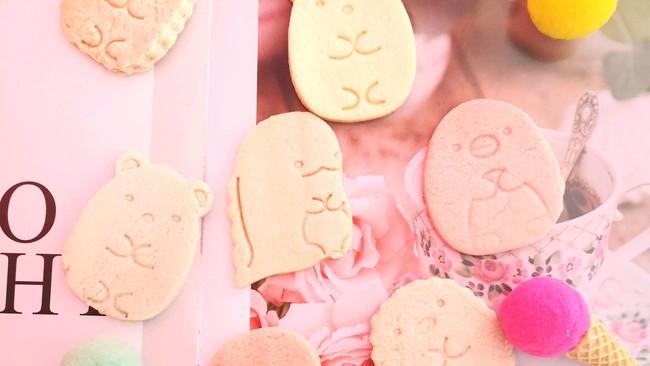 萌萌的角落生物饼干的做法