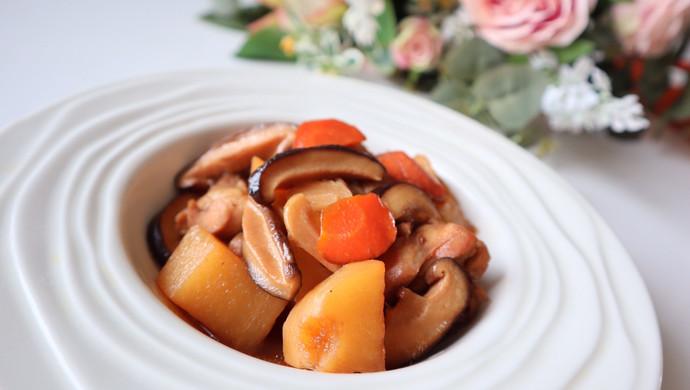 【新品】红烧鸡肉炖土豆