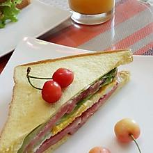 十分钟早餐:美味三明治