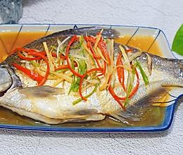 清蒸鳊鱼#肉食者联盟#的做法