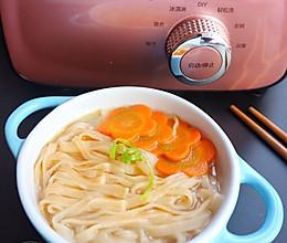 手工素汤面#爱的暖胃季-美的智能破壁料理机#