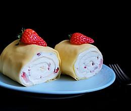 草莓毛巾卷的做法