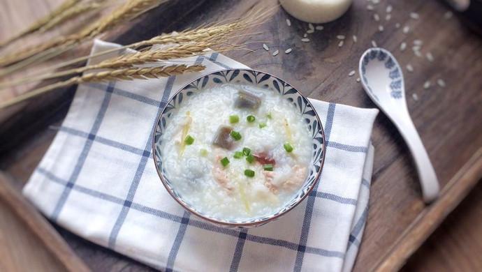"""五常大米: 皮蛋瘦肉粥#在""""家""""打造ins风美食#"""