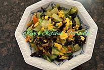 家常菜之2:黄瓜炒蛋的做法