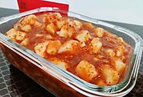 韩式小拌菜:萝卜块的做法