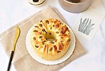 葡萄干手撕面包的做法