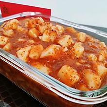 韩式小拌菜:萝卜块