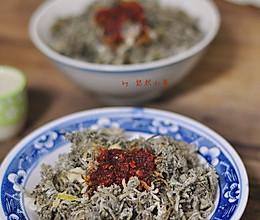 春季野味尝鲜之白蒿蒸菜的做法