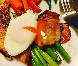 水波蛋早餐的做法