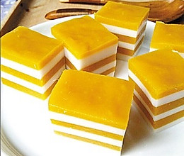 芒果糕的做法