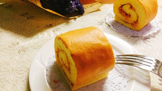 非常适合新手尝试的——肉松蛋糕卷