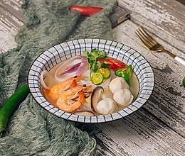 越南风味的海鲜米粉的做法