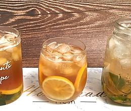 超简单柠檬红茶冰和绿茶冰,天气太热,来自制一杯清凉冰爽饮品吧的做法