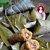 #甜粽VS咸粽,你是哪一党?# 鲜肉粽子的做法图解1