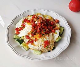 蒜柿香拌双面蛋的做法