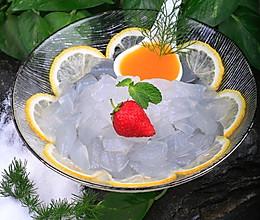 橙香水晶芦荟的做法