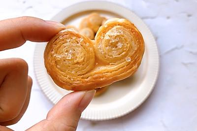 香甜酥脆丨手抓饼版快手蝴蝶酥‼️