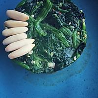 松仁菠菜的做法图解3