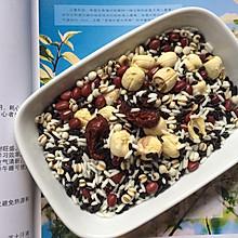 养胃补血紫米红豆粥