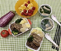 #助力高考营养餐#牛腩土豆饭的做法