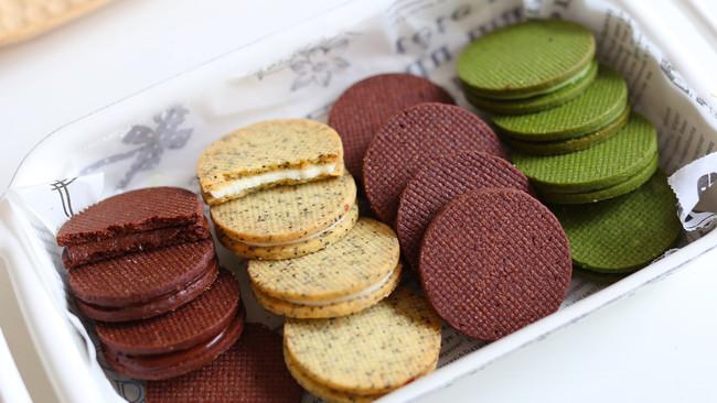 多种口味夹心饼干的做法