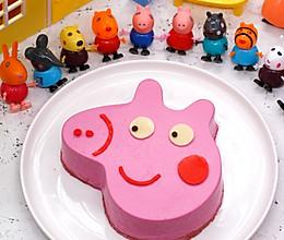 小猪佩奇火龙果慕斯蛋糕的做法