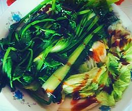 拌青菜的做法