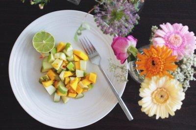 减肥又美味的水果沙拉!