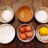 奶油菠萝蛋糕卷的做法图解1