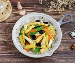 玉米笋炒时蔬的做法